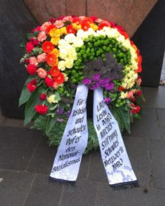 Gedenken an die schwulen und lesbischen Opfern des NS-Regimes