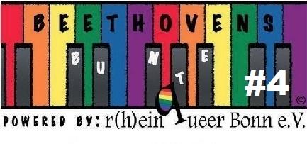Programm der Beethovens Bunten 2019: Wir sind dran!